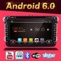 New Quad Core VW Android 6.0 Car DVD GPS VW GOLF 5 6 POLO JETTA TOURAN EOS PASSAT CC TIGUAN SHARAN SCIROCCO Caddy