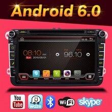 Neue Quad Core VW Android 6.0 Auto DVD GPS VW GOLF 5 6 POLO JETTA TOURAN EOS PASSAT CC TIGUAN SHARAN SCIROCCO Caddy