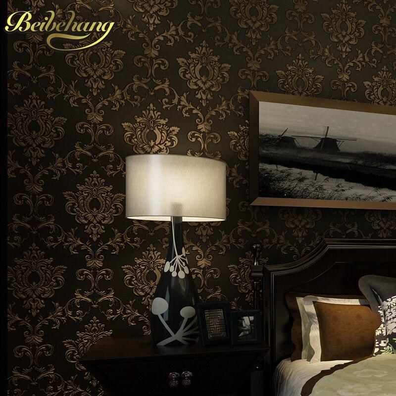 Beibehang retro italian wallpaper background wallpaper for Vintage bedroom wallpaper
