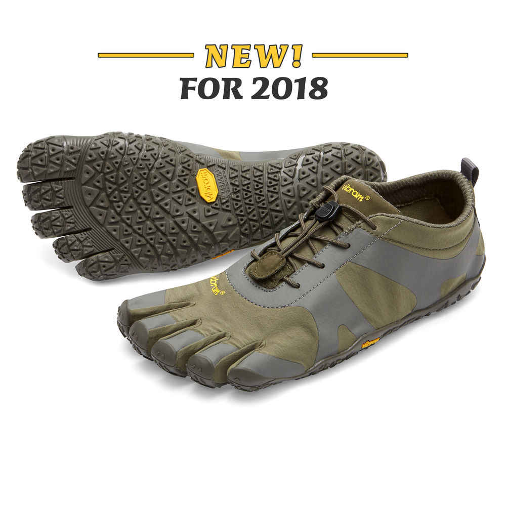 new product e78e2 c99bc ... Vibram Fivefingers New Five-finger Shoes Men s Cross-country Running  Shoes Outdoor Runing Five
