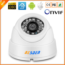 Wide Angle 2.8mm Lens ONVIF P2P Security IP Camera 1080P HI3516C 1/3''SC2035 Indoor Dome Camera IP 2MP Surveillance CCTV(China)