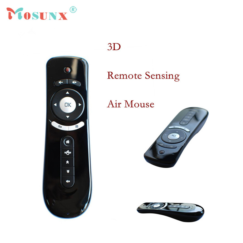 Factory Price Mini Fly Air Mouse 2.4G Wireless Remote Air Mouse Built-in 6 Axis for PC/Tablet Tv Box Motion Sensing Gamer Z9