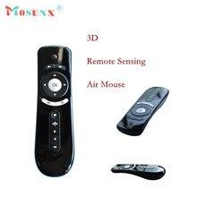 Precio de fábrica Mini Fly Air Ratón 2.4G Remoto Inalámbrico Aire ratón Incorporado de 6 Ejes para PC/Tablet Tv Box con Sensor de Movimiento Gamer