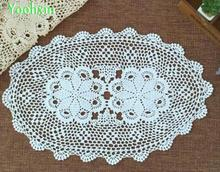 Modern Cotton Crochet Handmade tablecloth Table cloth mantel tea placemat round lace kitchen Table Cover for wedding decor