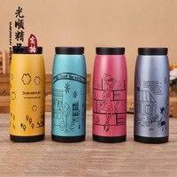 Creativo de la historieta taza taza de acero inoxidable Tatu Corea nueva moda logotipo personalizado publicidad regalos Taza