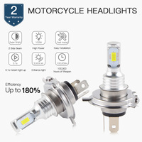 NICECNC Motorcycle 100W LED Headlight Bulbs For BMW F650 F650GS G450X G650 G650GS HP2 R1100R R1150R R1200C R850R R nineT