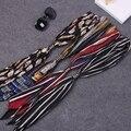 Новый маленький шелк твилли шарф ленты для волос группа сумки обрабатывать украшения галстук-бабочка многофункциональный ленте для женщин мода высокое качество