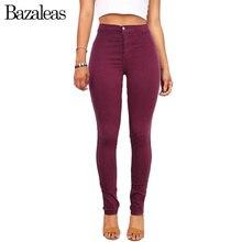2017 Celebrity summer Style Slim Elastic Women jeans Skinny Lady Women Pencil Pants High Waist Feminina Jean