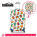 Dispalang Animal owl Pattern Elastic Luggage Protective Covers for 18-30 Inch Trolley Suitcase Cover Zipper Travel Accessories