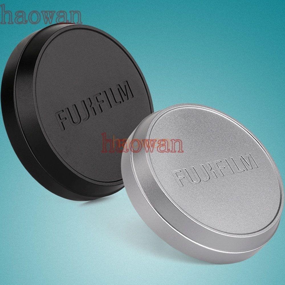 все цены на metal front Lens Cap/Cover protector hood for Fujifilm fuji X70 X100 X100S X100T camera black silver онлайн