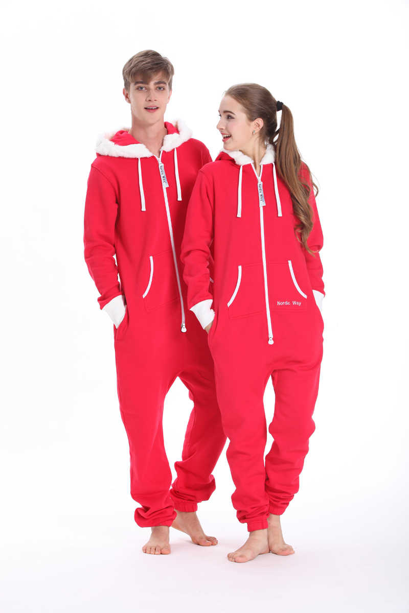 bbff40a72cca One Piece Jumpsuit All In Onsies Nordic Way Playsuit Adult Unisex Romper  Hoodie Fleece Overall