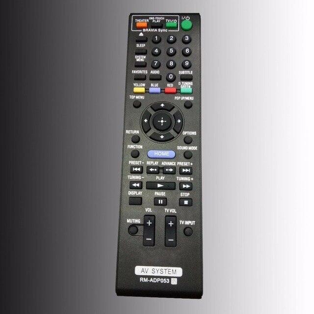 ใหม่สำหรับSONY AV SystemรีโมทคอนโทรลRM ADP053 สำหรับDVD Home Theater Blu Ray Disc BDV E470 BDV E570 BDV E77