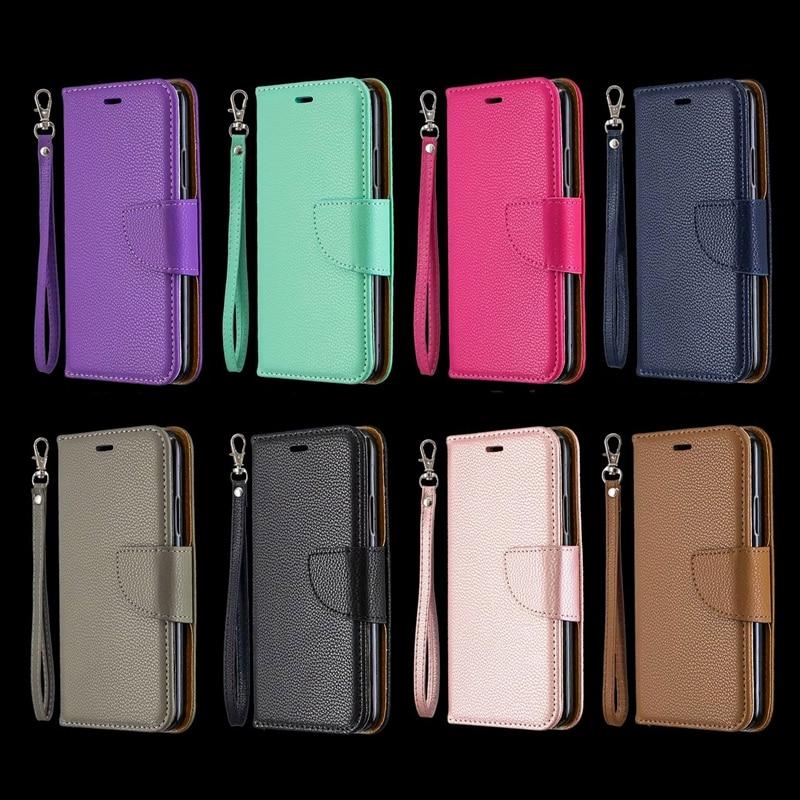 Leather Wallet Case For Galaxy M10 M20 M30 A10 A20 A30 A40 A50 A70 A7 J4