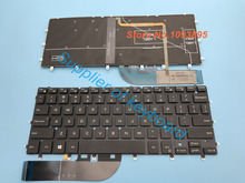 Neue Englisch tastatur Für Dell XPS 13 9343 13 9350 9360 Laptop Englisch Tastatur Mit Backlit