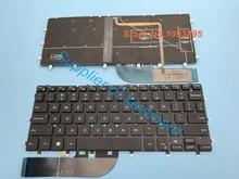 Nieuwe Engels toetsenbord Voor Dell XPS 13 9343 13 9350 9360 Laptop Engels Toetsenbord Met Achtergrondverlichting