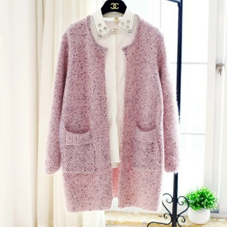 women sweater harajuku plus size cute sweaters oversized womens cardigans casual computer knitted long cardigan pockets