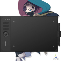 XP Pen Star06 Wireless Battery Free Stylus Graphics Drawing Tablet With 8192 Pressure Levels