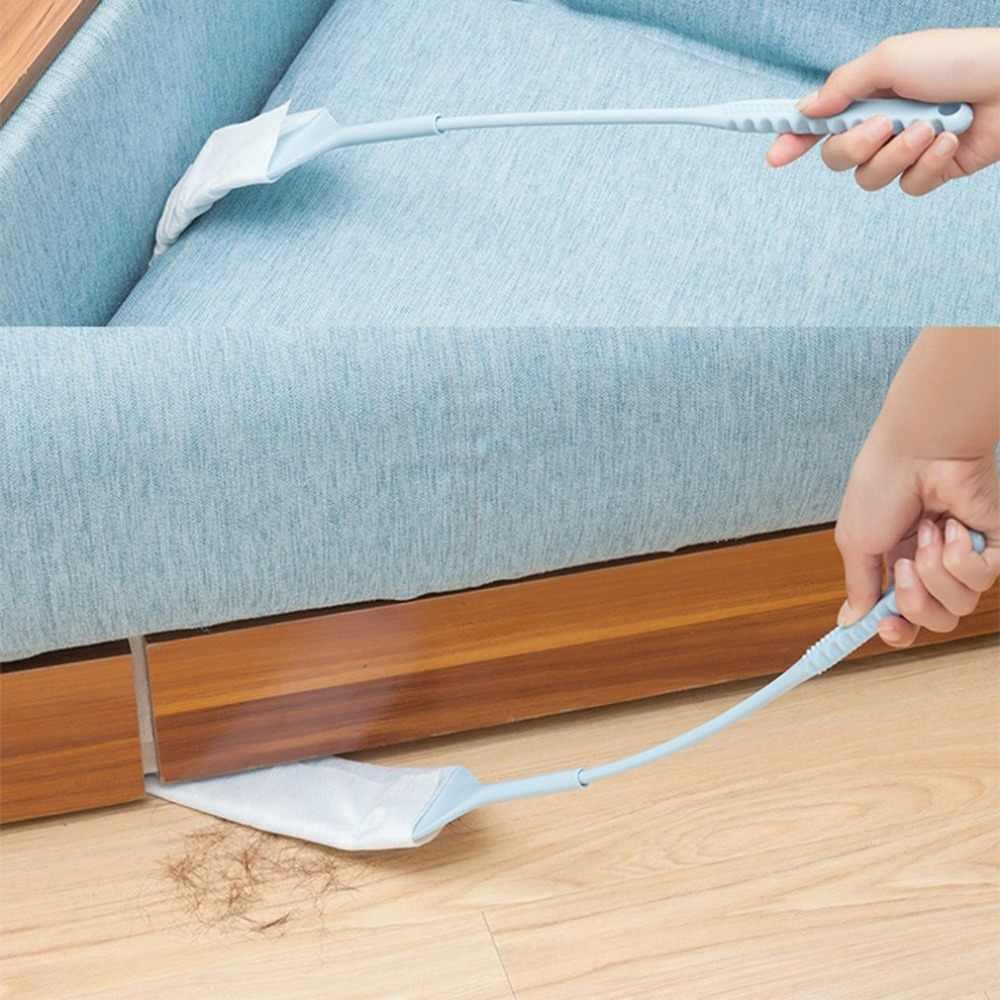 انفصال الفجوة نافض الغبار تنظيف فرشاة فراغ نظافة غير المنسوجة النسيج ل أريكة سرير أسفل المنزل المفروشات تنظيف