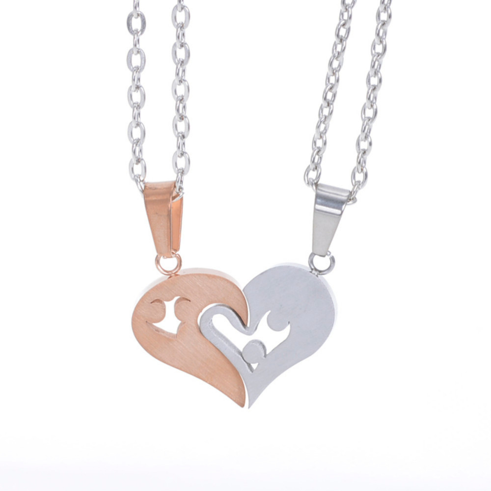 Aliexpress.com : Buy 2pcs Matching Lovers' Relationship Stainless ...