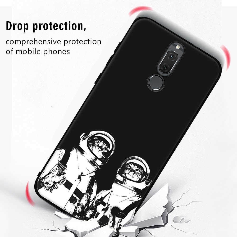 Berpola Kasus Untuk Huawei Mate 10 P10 P20 Lite Pro Kasus Pasangan 10 Pro P8 P9 Lite 2017 Y9 2018 Nova 2i Untuk Honor 8 9 Lite TPU kasus