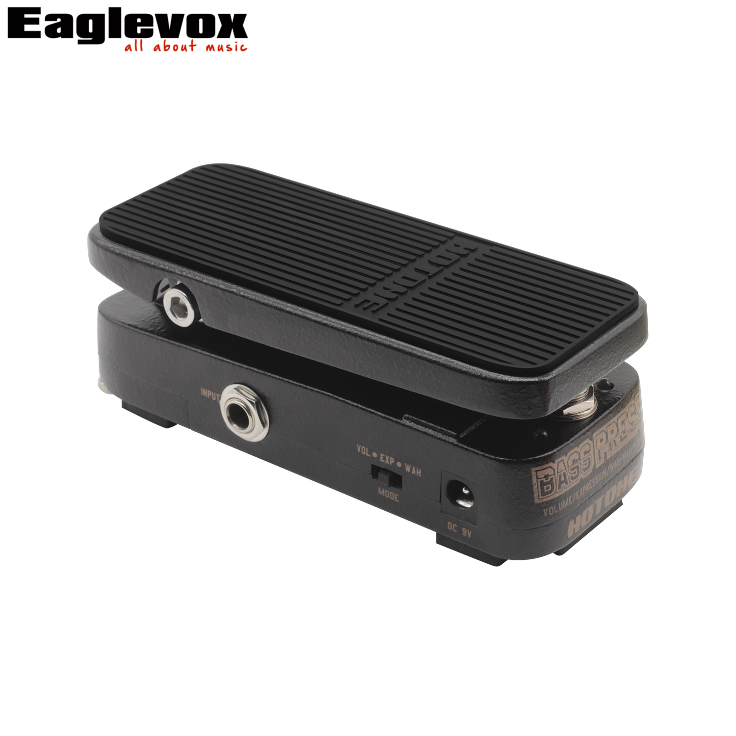 Hotone Bass Press Volume Expression Wah Pedal Electric Guitar Effect Pedal Strong Clear Sound volume guitar pedal volume pedal new portable true bypass design 15ma 2in1 volume pedal cp 31 wah pedal musical instruments accessories ea14