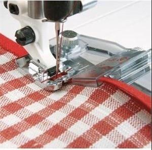 Rolled Hem Pressure Foot Sewing Machine Presser Foot Adjustable Bias Binder Foot Hemmer Foot For Domestic Sewing Machines