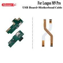 Alesser для Leagoo M9 Pro зарядная панель под usb-разъем материнской замены гибкий кабель для Leagoo M9 Pro Аксессуары