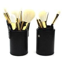 Imitation Leather Travel Makeup Brushes Storage Holder