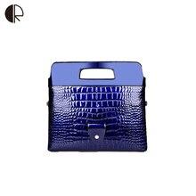 Frauen Mode Ketten Handtaschen Damen Krokoprägung PU Clutch Hochzeit Abendtasche Marke Design Verformbaren EnvelopeBS793