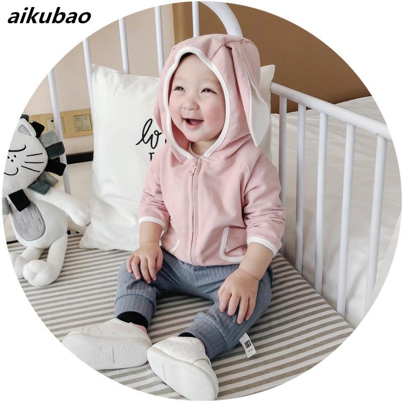 bebek sweatshirt 2018 new Baby Boy Girl Hoodies Clothes baby summer sweatshirt baby boy summer long sleeve sportwear