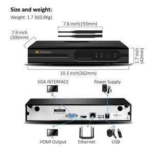 Image 5 - Jennov 8CH 1080 720p ワイヤレス wifi ホームセキュリティカメラシステム屋外 cctv セットビデオ監視キット ip カメラの wi fi 2MP aduio カム