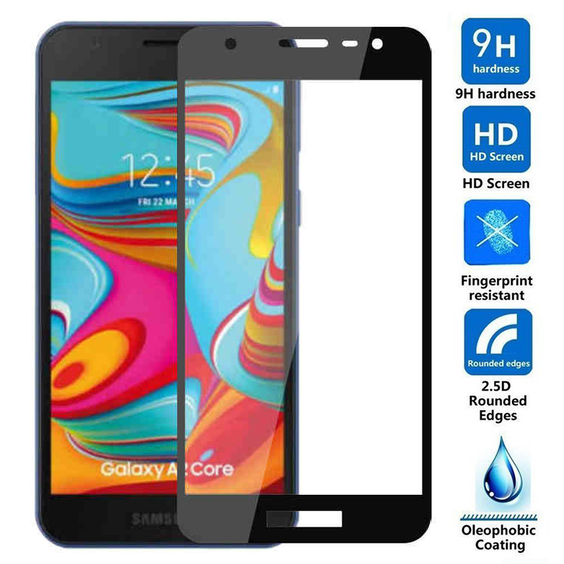 Full Protective Glass for Samsung Galaxy A2 Core A20 e A20e A 20 a2core A260F A205FN A202F Tempered Glass screen Protector film(China)