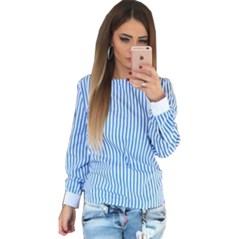Blouses & Shirts Impartial 2019 Blusa Feminina Halo Sexy Halter Hollow Strap Striped Shirt Women New Explosions Aliexpress Vestidos Eff6131 Matching In Colour