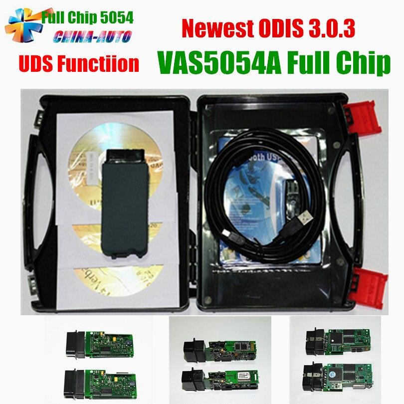 New ODIS V3 0 3 VAS 5054A OKI Chip VAS5054A Bluetooth Support UDS VAS 5054 Full