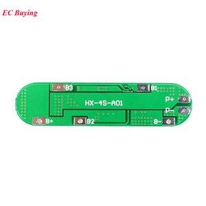 4 S BMS Li-Ion 18650 14,8 V Batterie Schutz PCB 4 s 18650 Polymer Lithium-Batterie Modul 10A Elektronische Geschützt bord