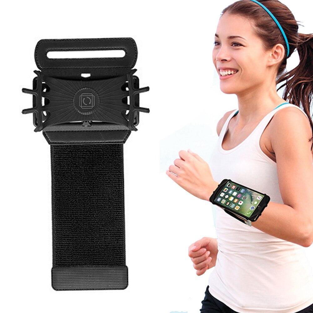 3,5-6in Läuft Tasche Telefon Armband Lauf Pouch Strap Jogging Sport Gym Arm Band Gürtel manschette telefon für fitness zubehör