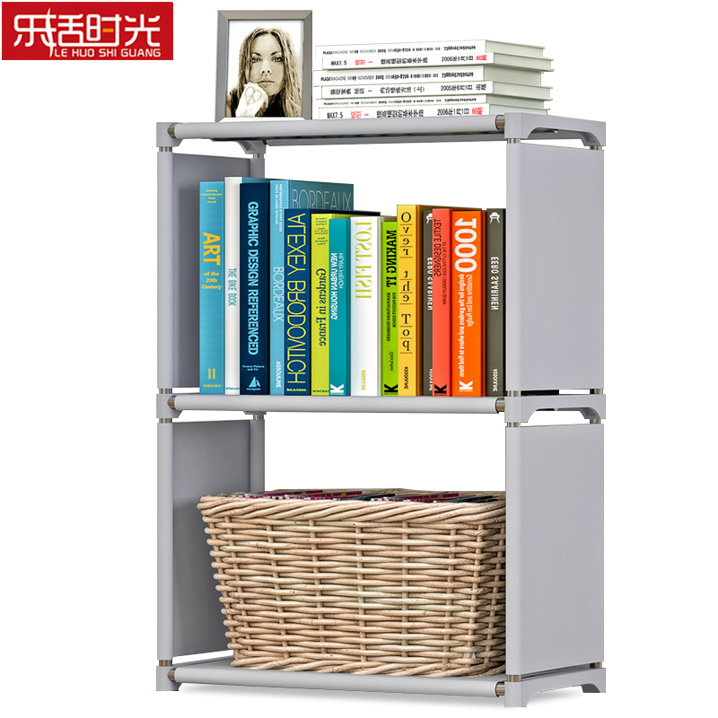 Simple 3 Tier Kids Bookshelf Creative Modern Home Decoration Study Room Display Stand Reinforced Frame Small Bookcase for KidsSimple 3 Tier Kids Bookshelf Creative Modern Home Decoration Study Room Display Stand Reinforced Frame Small Bookcase for Kids