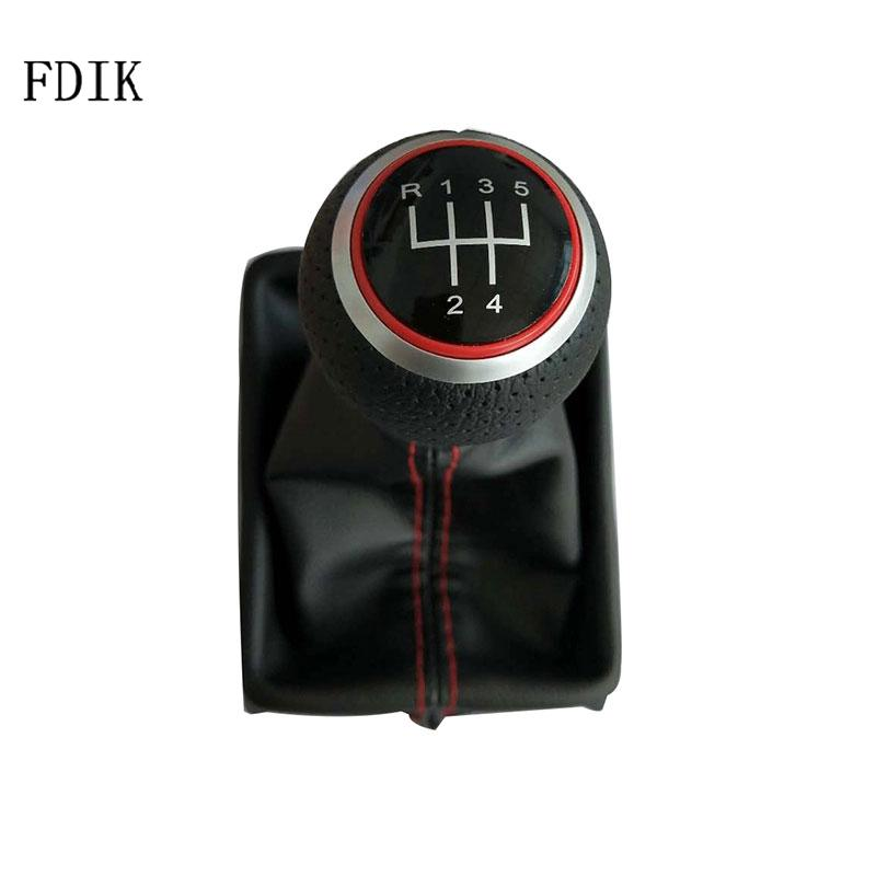 3 Colors New Gear Shift Knob with Leather Boot Fits Audi Q5 A4 A5 2010-2015