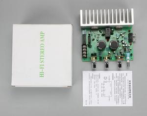 Image 5 - Dual TDA7294 HIFI 2,0 ESTÉREO 100w + 100w amplificador de potencia de Audio Junta RCA Placa de control de tonos
