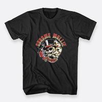 New Fashion Short Sleeve T Shirts Short Chrome Mollie Rock N Skull Color Black Crew Neck