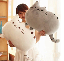 Free Shipping 40*30cm Plush Toys Stuffed Animal Doll Talking Animal toy Pusheen Cat For Girl Kid Kawaii Cute Cushion Brinquedos