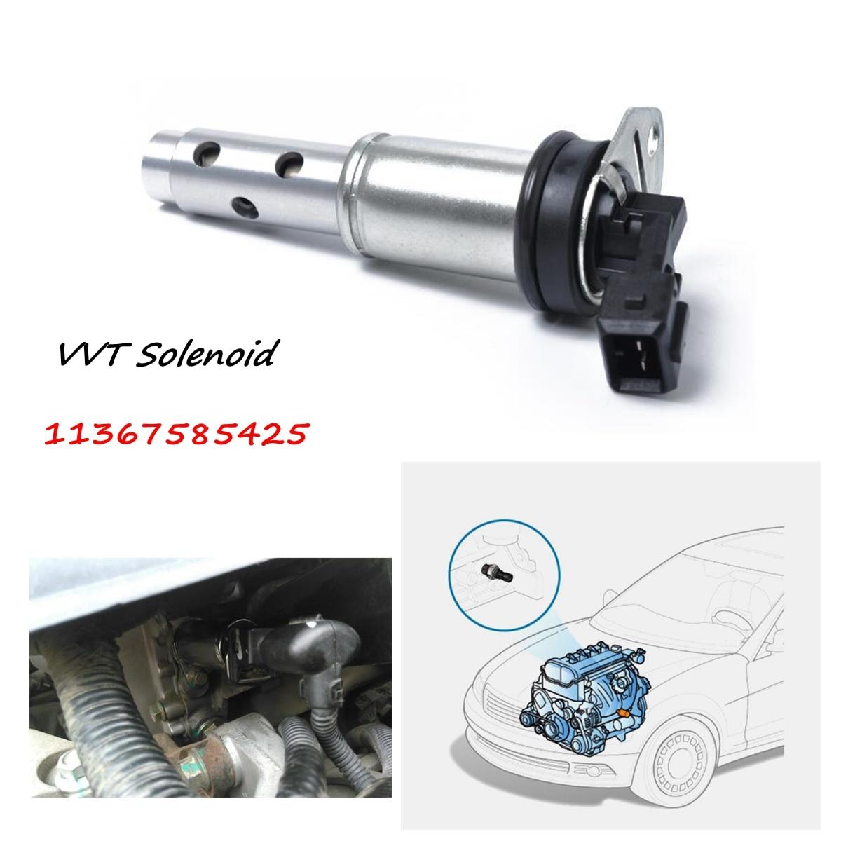 11367585425 Variable Valve Vanos Timing Solenoid N51 N52 N53 N54