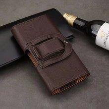 Holster Belt Clip Leather Mobile Phone Case Pouch For Sony Xperia XZ2/Xperia XA1 Plus,Doogee Turbo 2 DG900 X9 MINI T5S,Meizu E2