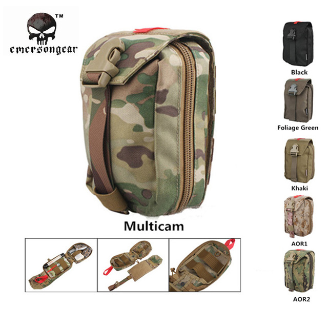 Emersongear Military First Aid Kit Medic Pouch Molle Military