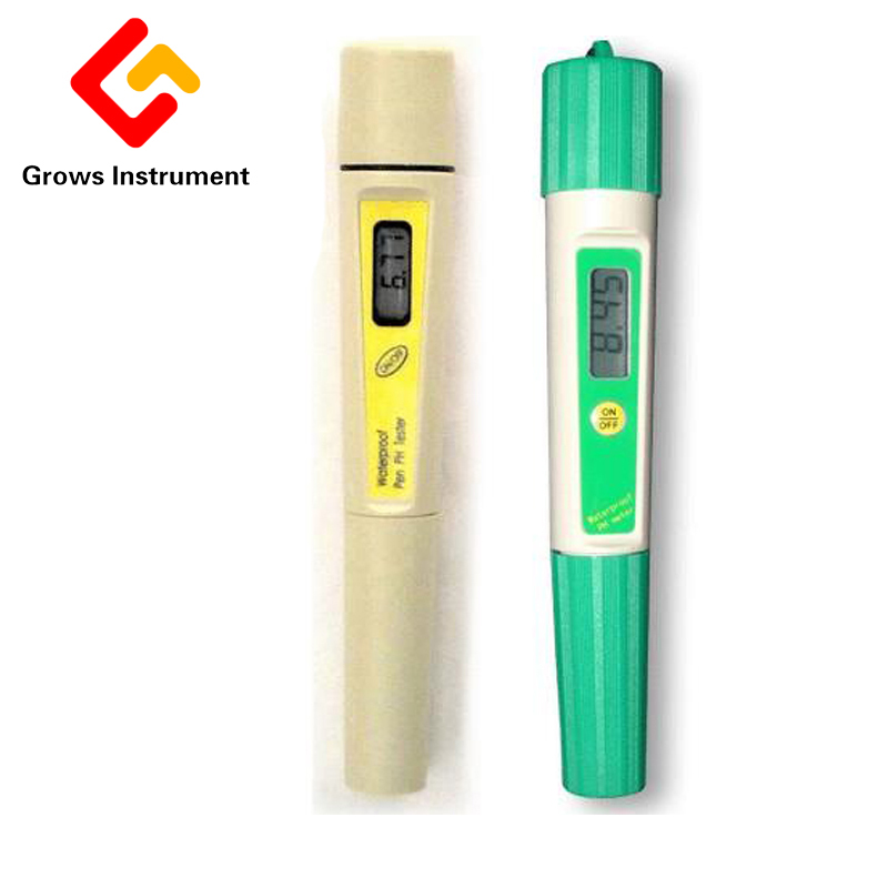 High precision Waterproof acid alkali test pen Type Digital pH TEMP Meter Water Quality Monitor mc 7806 digital moisture analyzer price with pin type cotton paper building tobacco moisture meter