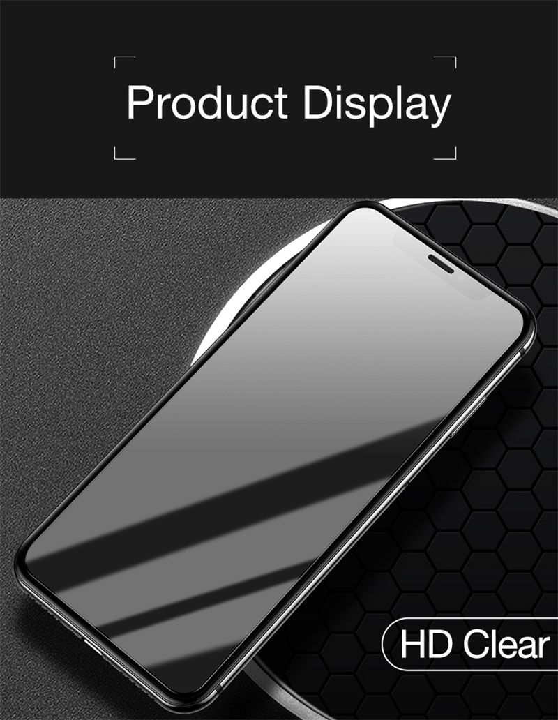9. HD Clean glass  for iphone 9