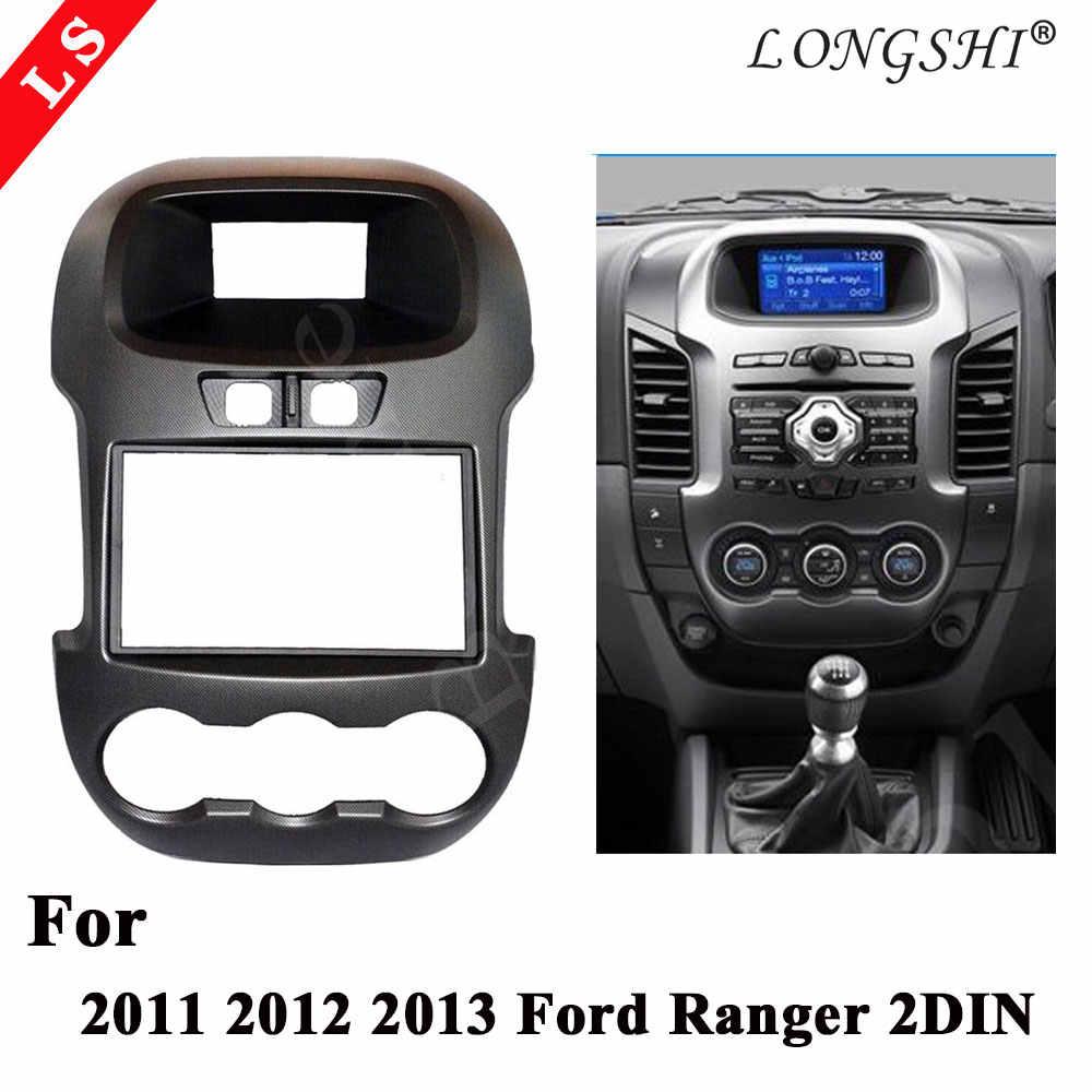Longshi カーキット/車筋膜パネル/オーディオ/車のダッシュフレームキットフォードレンジャー 11-13 小売/個 2din 6-7 インチ