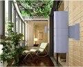 110 * 300 мм вверх и вниз 18 Вт из светодиодов открытый настенный светильник 2 * 9 Вт двор улица IP65 водонепроницаемый сад во внутреннем дворике коридор из светодиодов настенный светильник