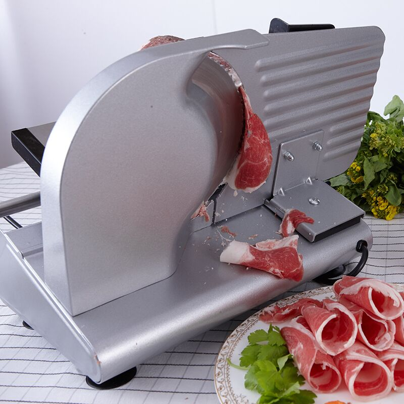 2018 200 W elettrico Affettatrice Domestica Agnello carne fetta Fette di pane Piatto Caldo Desktop macchina di taglio della Carne
