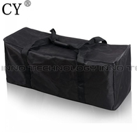 Black Photography Equipment Carrying Case Bag For Photo Studio Accessories